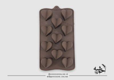 قالب سیلیکونی شکلات قلب پروانه کد15