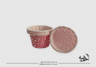 کپسول مینی کاپ کیک گلدار