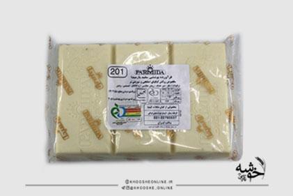 شکلات تخته ای سفید 1 کیلویی پارمیدا