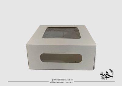 جعبه کیک اکونومی 25 در 25 سانت