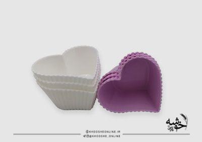 قالب باگر کوچک 3عددی قلب