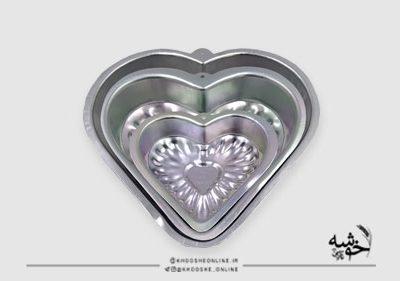 قالب آلومینیوم طرح قلب