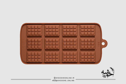 قالب سیلیکونی شکلات تبلتی